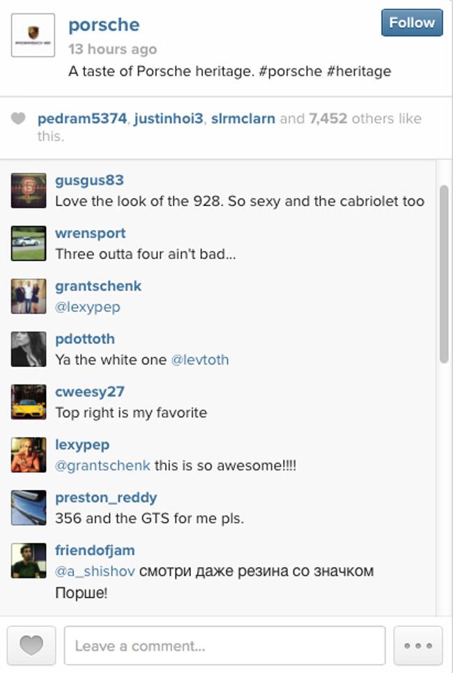 Porsche on Instagram