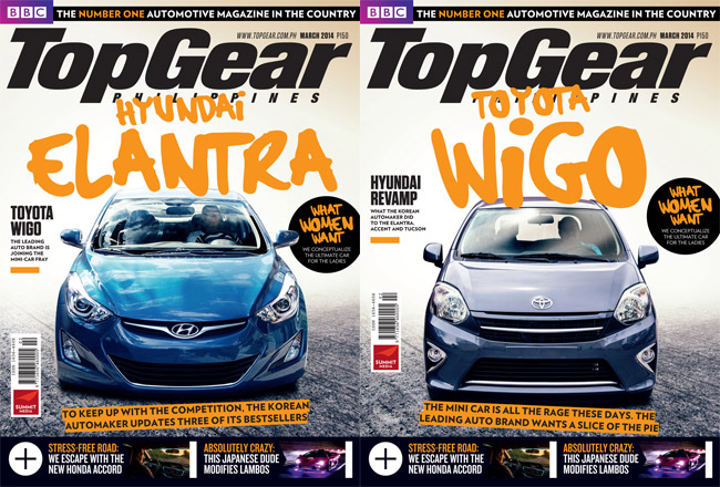 Top Gear Philippines' March 2014 issue