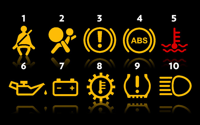 don t panic common dashboard warnings you need to know  part 1  tip sheet top gear philippines 2004 Mazda MPV 2004 Mazda MPV