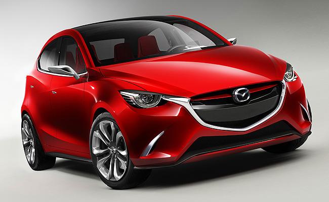 TopGear.com.ph Philippine Car News - Geneva 2014: Mazda teases next-gen Mazda 2 with Hazumi concept
