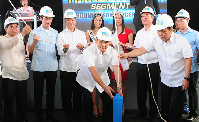 TopGear.com.ph Philippine Car News - NLEX concessionaire breaks ground for Harbor Link Segment 10