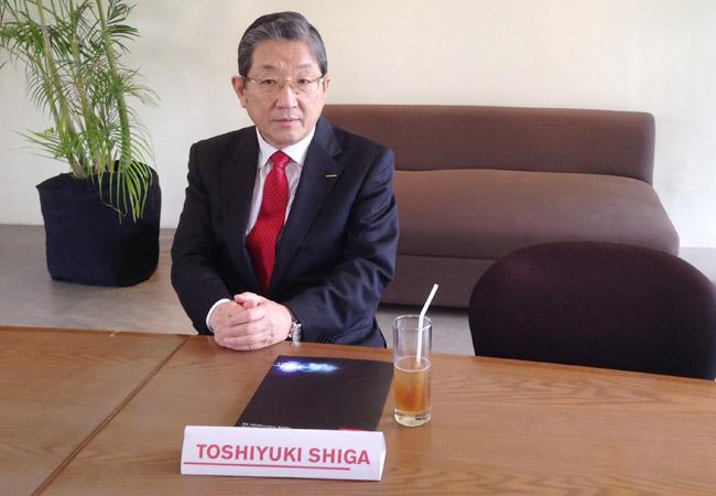 Nissan Motor Company vice chairman Toshiyuki Shiga