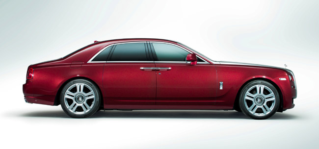 Rolls-Royce Ghost Series II revealed at the 2014 Geneva Motor Show