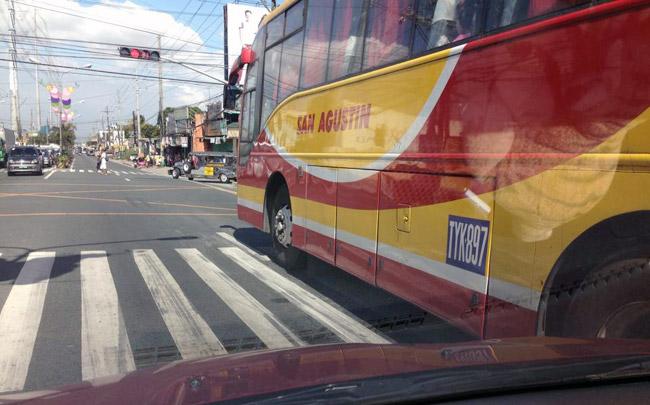 Public-utility bus
