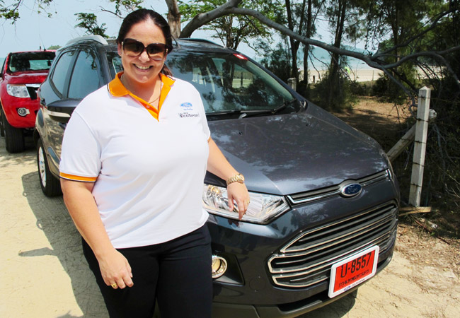Ford Philippines managing director Kay Hart