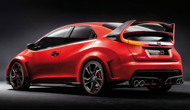 Geneva Motor Show: Honda Civic Type R Concept
