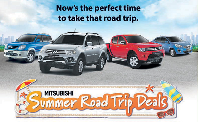 TopGear.com.ph Philippine Car News - Mitsubishi PH's Summer Road Trip Deals offers all-in packages
