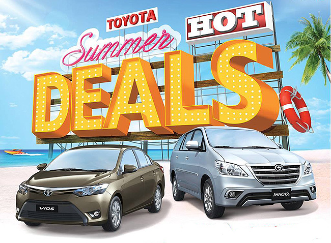 TopGear.com.ph Philippine Car News - All-new Vios, refreshed Innova part of Toyota PH's Hot Summer Deals