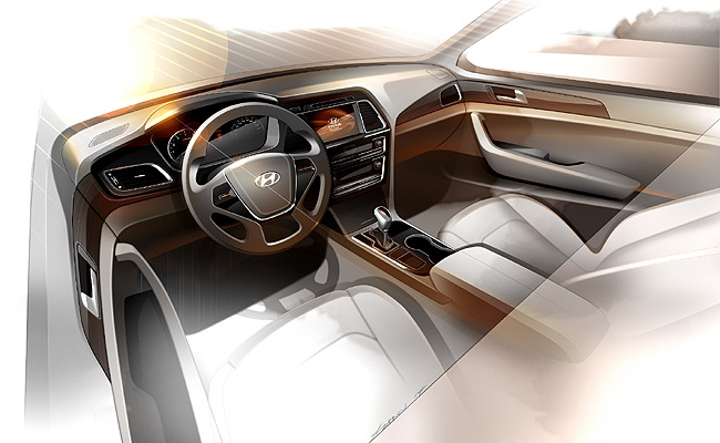 TopGear.com.ph Philippine Car News - Hyundai now teases next-gen Sonata's interior