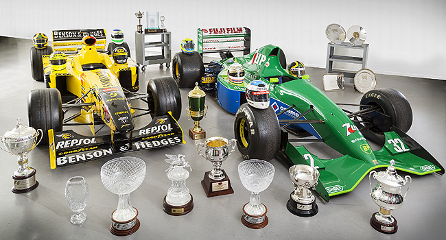 TopGear.com.ph Philippine Car News - Historic Jordan Grand Prix cars now on sale