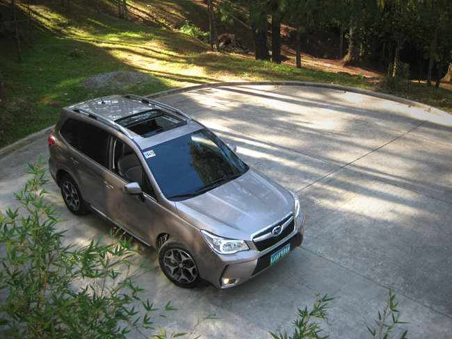 Review: Subaru Forester XT in the Philippines