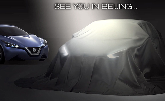 TopGear.com.ph Philippine Car News - Nissan to reveal sedan concept for Chinese market at 2014 Auto China show