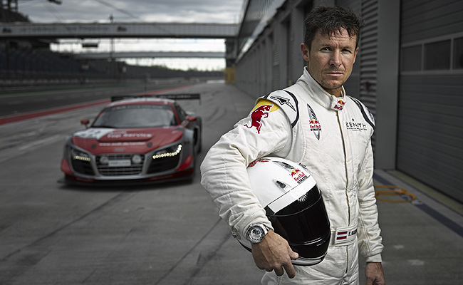 TopGear.com.ph Philippine Car News - Felix Baumgartner jumps from the stratosphere to racing cars