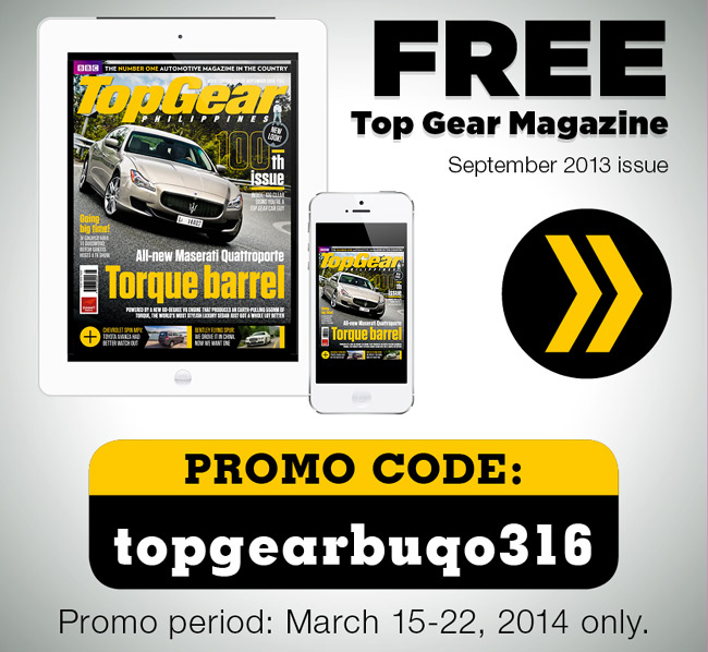 Freebie: Top Gear Philippines' 100th issue