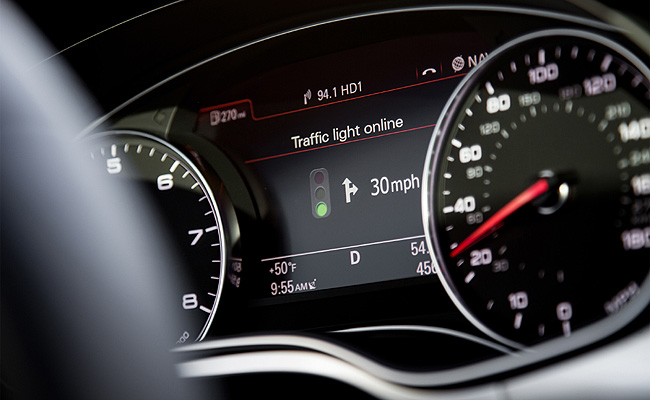 TopGear.com.ph Philippine Car News - Audi's traffic light recognition system ready to go into