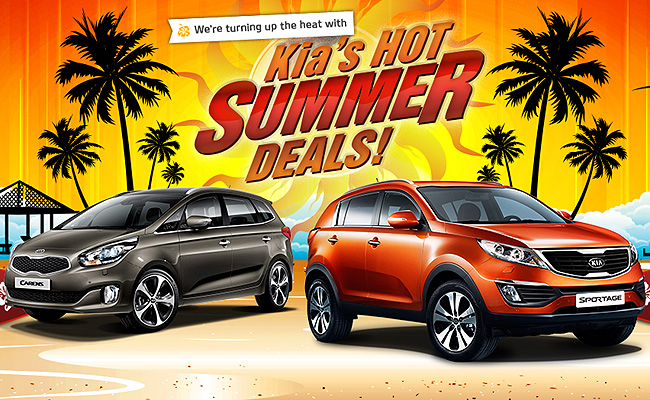 TopGear.com.ph Philippine Car News - Kia's Hot Summer Deals for Carens, Sportage