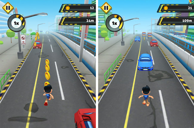 'Manila Rush' lets you run along EDSA and leap over buses