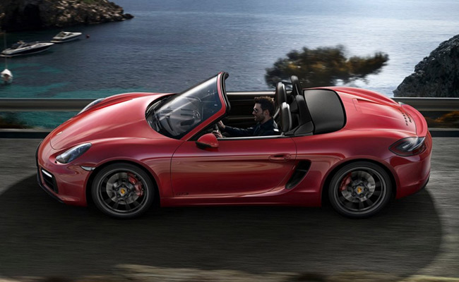 The new Porsche Boxster GTS and Cayman GTS