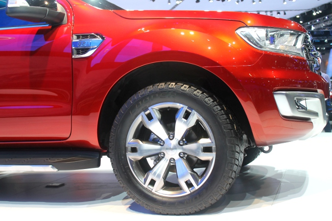 The next Ford Everest will be based on this concept