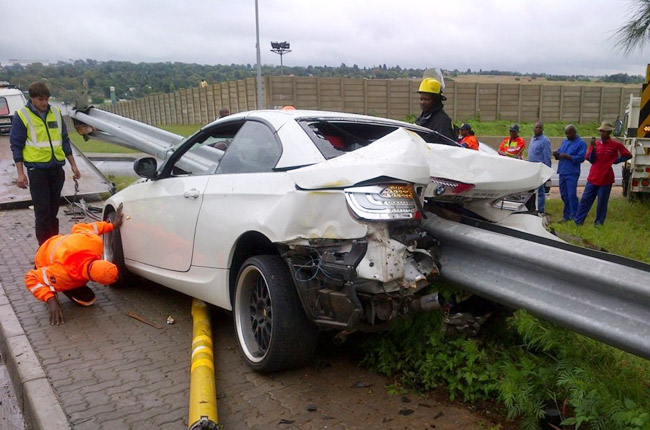 Rooi Mahamutsa BMW accident