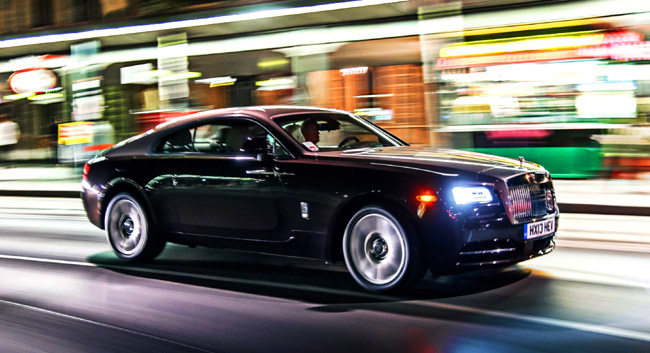 Don't miss Rolls-Royce Wraith's first public appearance in the Philippines