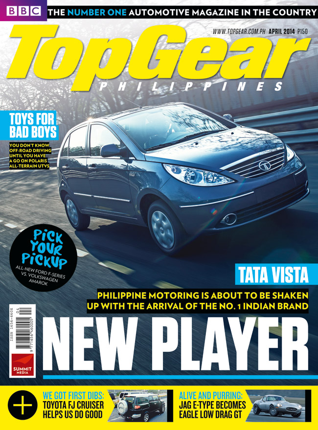 Top Gear Philippines' April 2014 issue