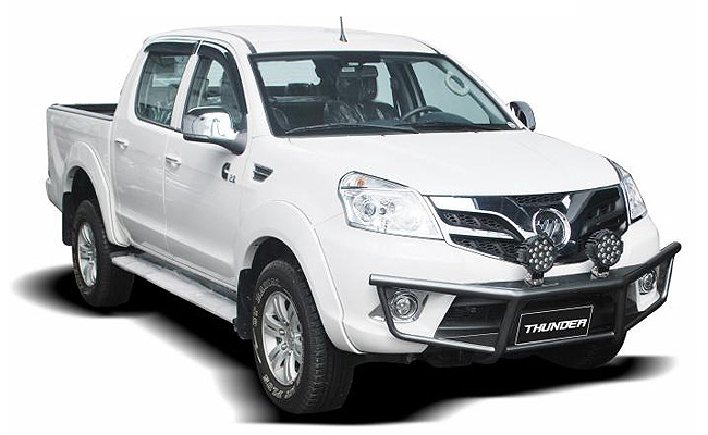 TopGear.com.ph Philippine Car News - MIAS 2014: Foton unleashes tougher Thunder pickup variants