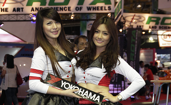TopGear.com.ph Philippine Car News - 15 images: The babes of the 2014 Manila International Auto Show