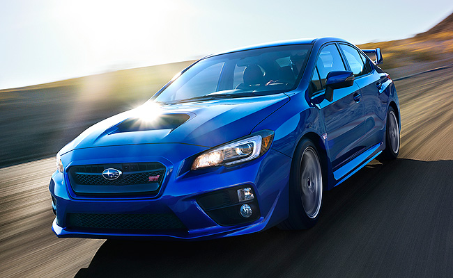 TopGear.com.ph Philippine Car News - MIAS 2014: Russ Swift to use all-new Subaru WRX STI in stunt show