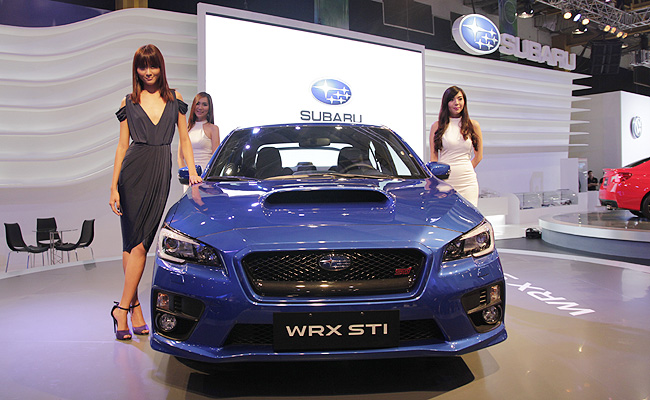 TopGear.com.ph Philippine Car News - MIAS 2014: Want to know the price of the Subaru WRX, WRX STI?