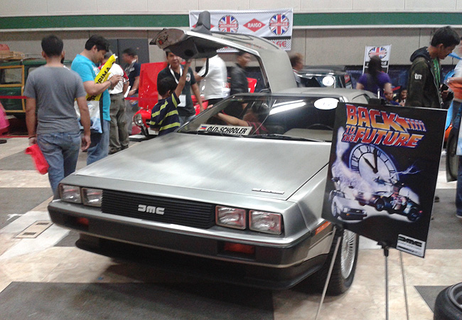 That DeLorean DMC You Saw At MIAS Is Actually Up For Sale Car - Car show displays for sale