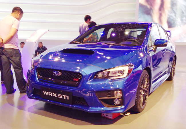Subaru WRX STI at MIAS