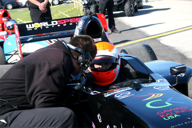 Michele Bumgarner: Exceeding my race expectations at St. Petersburg Grand Prix