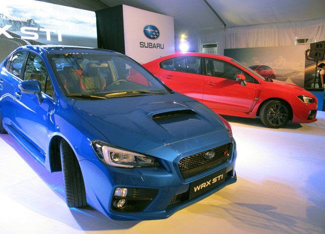 Subaru WRX STI and WRX