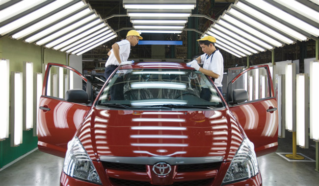 2014 Toyota Motor Philippines recall