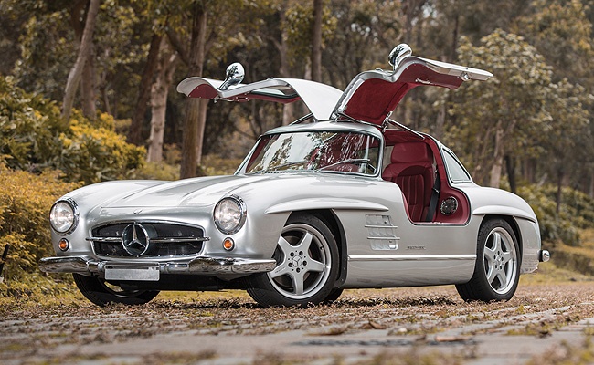 TopGear.com.ph Philippine Car News - One of only 11 AMG retro-modded Mercedes-Benz 300 SL Gullwing's to go on sale