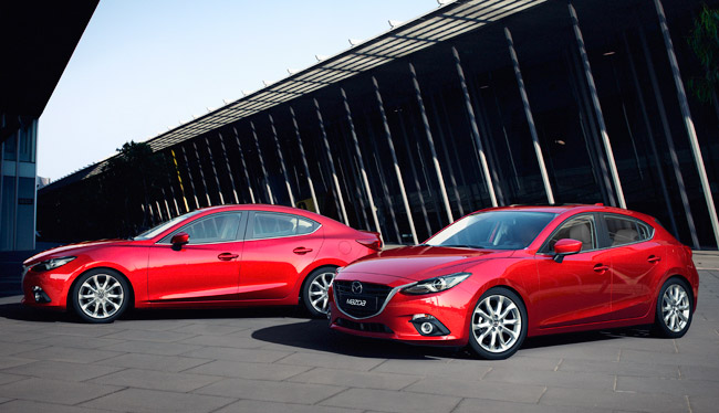 All-new Mazda 3 sedan and hatchback