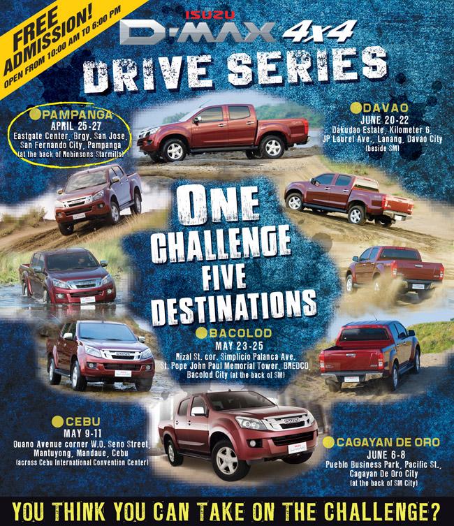 2014 Isuzu D-Max 4x4 Drive Series