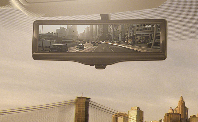 TopGear.com.ph Philippine Car News - Nissan to show off Smart Rearview Mirror at 2014 New York Auto