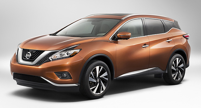 TopGear.com.ph Philippine Car News - All-new Nissan Murano to make its debut at 2014 New York Auto Show