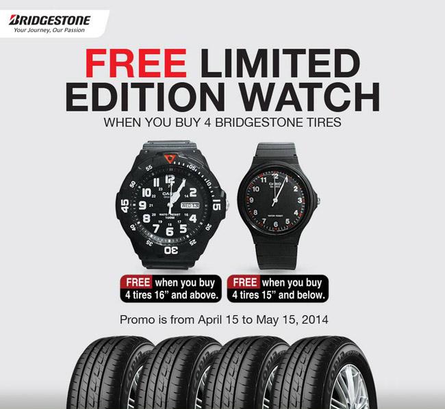 Bridgestone Philippines sales promo
