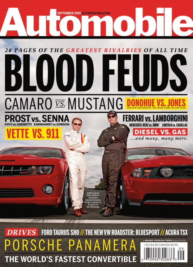 Automobile Camaro-Mustang cover