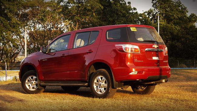 Chevrolet Trailblazer 2.8L 4x2 AT: review, price, speccs