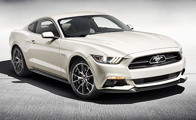 TopGear.com.ph Philippine Car News - Ford marks Mustang's 50th anniversary with limited-edition model