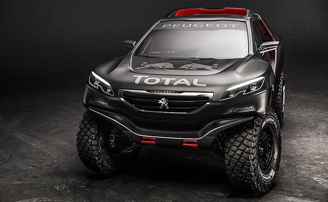 TopGear.com.ph Philippine Car News - Peugeot reveals what its 2015 Dakar Rally contender will look like