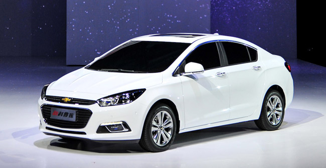 Next-gen Chevrolet Cruze unveiled at Beijing Motor Show