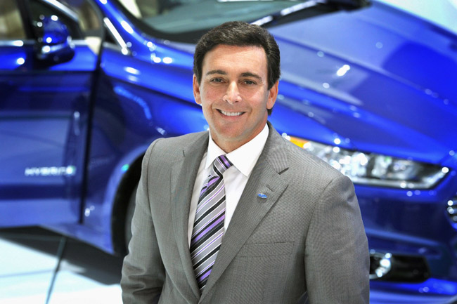 Report: Ford COO Mark Fields to be named new CEO