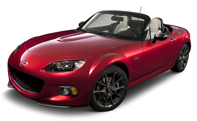 TopGear.com.ph Philippine Car News - Mazda's MX-5 swansong is 25th anniversary limited-edition