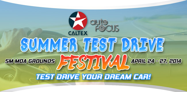 Auto Focus Summer Test Drive Festival