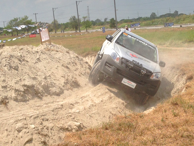 Put the Isuzu D-Max 4x4 to the test at this driving series